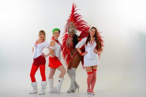 TamTam red costumes