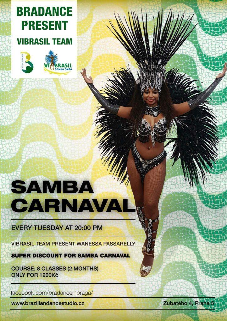 Poster-Samba Carnaval