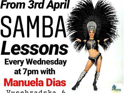 samba lessons manuela