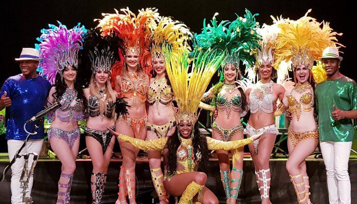 vibrasil samba show dancers