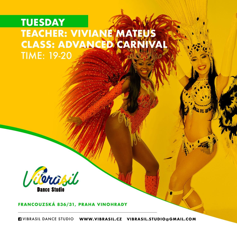 viviane manuela carnival samba