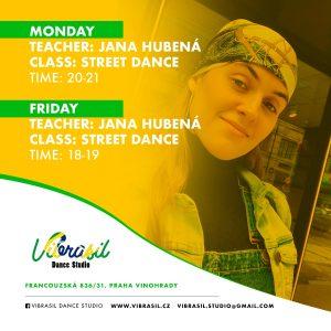 street dance jana hubena