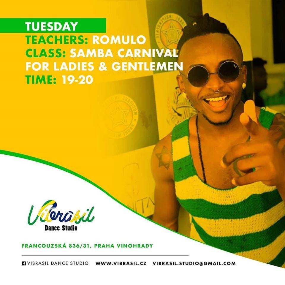 Samba Carnival Romulo